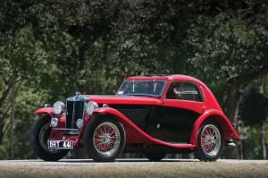 1936 MG NB Magnette Airline Coupe by Carbodies