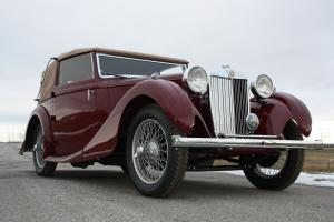 1939 MG VA Tickford Drophead Coupe by Salmons & Sons