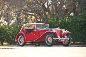 1950 MG TC SC EXU Midget Roadster