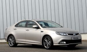 MG 6 Magnette 2012 года