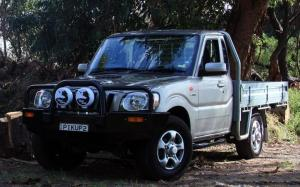 Mahindra Pik Up Single Cab (AU) '2009