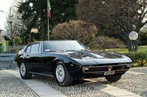 Maserati Ghibli Coupe Black 1968 года