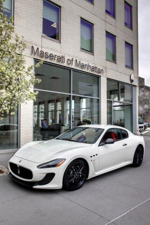 Maserati GranTurismo MC Manhattan 2011 года