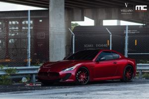 2012 Maserati GT by Vellano Wheels