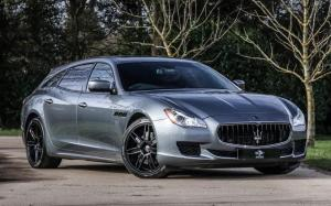 Maserati Quattroporte Shooting Brake 2013 года (UK)