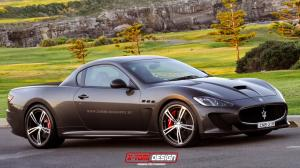 Maserati GranTurismo MC Stradale Pickup by X-Tom Design 2014 года