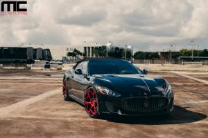 Maserati GranTurismo by MC Customs on Vellano Wheels 2014 года