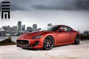 Maserati GranTurismo MC Sportline by Exclusive Motoring on Vossen Wheels 2015 года