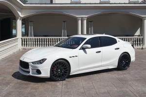 Maserati Ghibli by Wald on Forgiato Wheels (Freddo-M) 2016 года