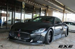Maserati GranTurismo Wide Body by EXE and Liberty Walk