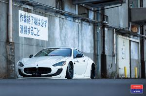 Maserati GranTurismo by Liberty Walk on Vossen Wheels (VWS-2) 2016 года
