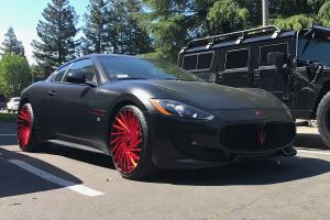 2017 Maserati GranSport on Forgiato Wheels (Ventoso-ECL)