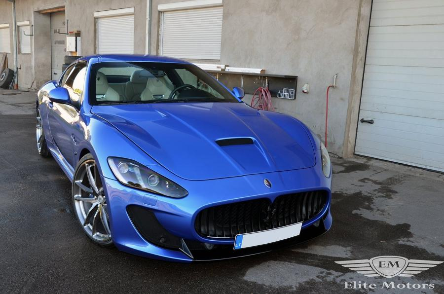Maserati GranTurismo S by Novitec Rosso and Elite Motors '2017