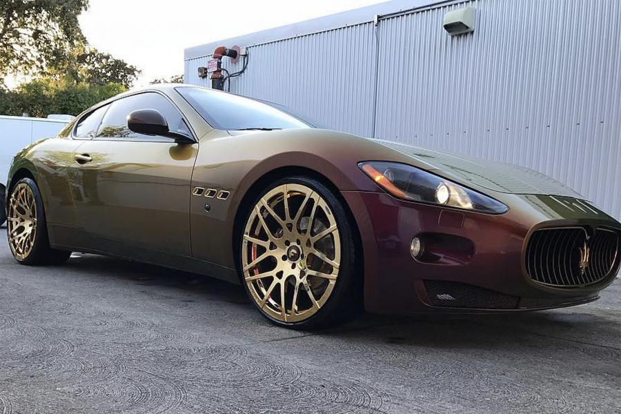 Maserati GranTurismo on Forgiato Wheels (Maglia-M) '2017