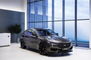 2017 Maserati Levante Shtorm in Grey by Larte Design