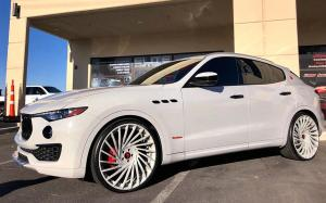 2019 Maserati Levante S Q4 GranLusso on Forgiato Wheels (Ventoso-ECL)