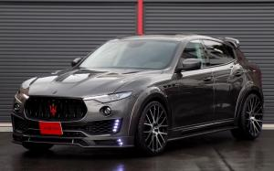 Maserati Levante on Forgiato Wheels (FLOW 001) 2019 года