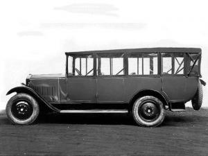1927 Mathis 1TGM Bus Alpin