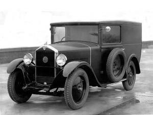 1930 Mathis PY 6 CV Fourgon