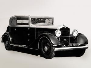 Mathis Emy-8 FOH Court 17 CV Faux Cabriolet 1931 года
