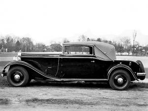 Mathis Emy-8 FOH Long 20 CV Cabriolet 1931 года