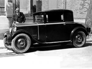 1931 Mathis PYC 7 CV Coupe