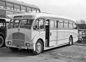 Maudslay Marathon III Burlingham Sunsaloon (FC37F) (UK) '1951