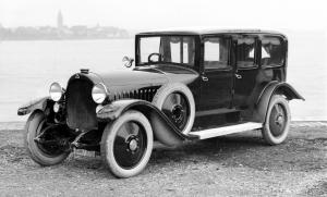 Maybach W3 Limousine by Auer 1925 года