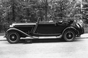 1927 Maybach W5 Cabriolet von Glaser