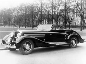 Maybach Zeppelin DS8 Sport Cabriolet 1938 года