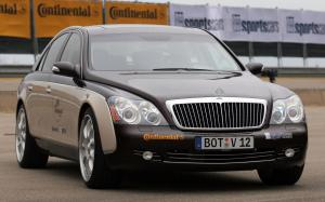 Maybach 57 SV12 S Biturbo Speed Record Car by Brabus 2007 года