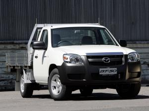 Mazda BT-50 Chassis Single Cab 2006 года (AU)