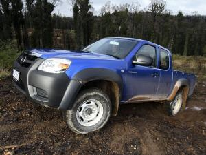 Mazda BT-50 Freestyle Cab 2008 года (AU)