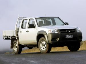 Mazda BT-50 Utility DX Double Cab 2008 года (AU)