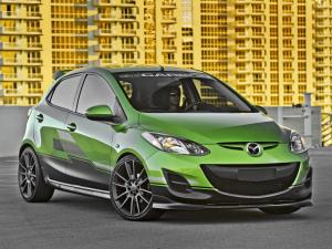 Mazda2 by 3D Carbon 2011 года
