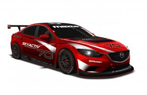 Mazda6 SkyActiv-D Race Car 2013 года