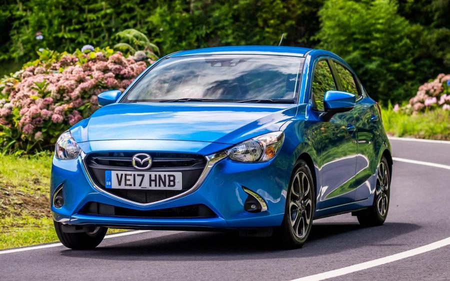 2017 Mazda2 Tech Edition (UK)
