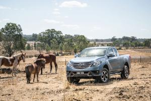 2018 Mazda BT-50 Freestyle Cab