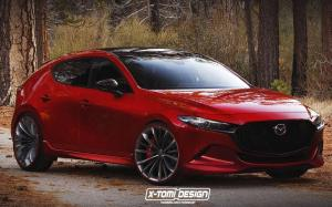 Mazda 3 MPS by X-Tomi Design 2019 года