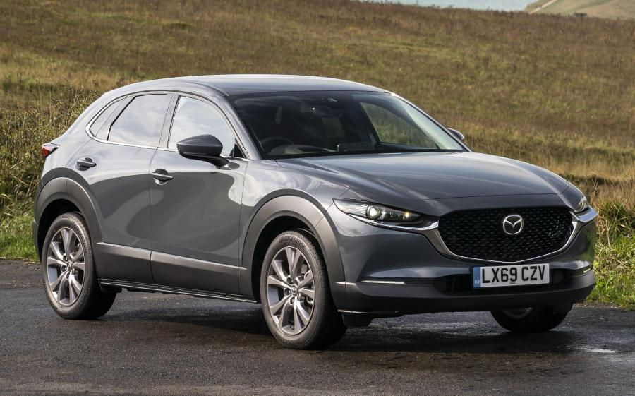 Mazda CX-30 Skyactiv-G (UK) '2019