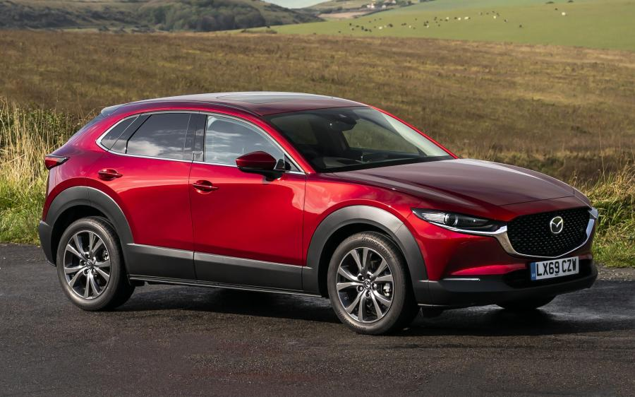 Mazda CX-30 Skyactiv-X (UK) '2019