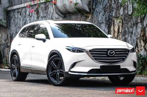 2019 Mazda CX-9 by Permaisuri on Vossen Wheels (HF-1)