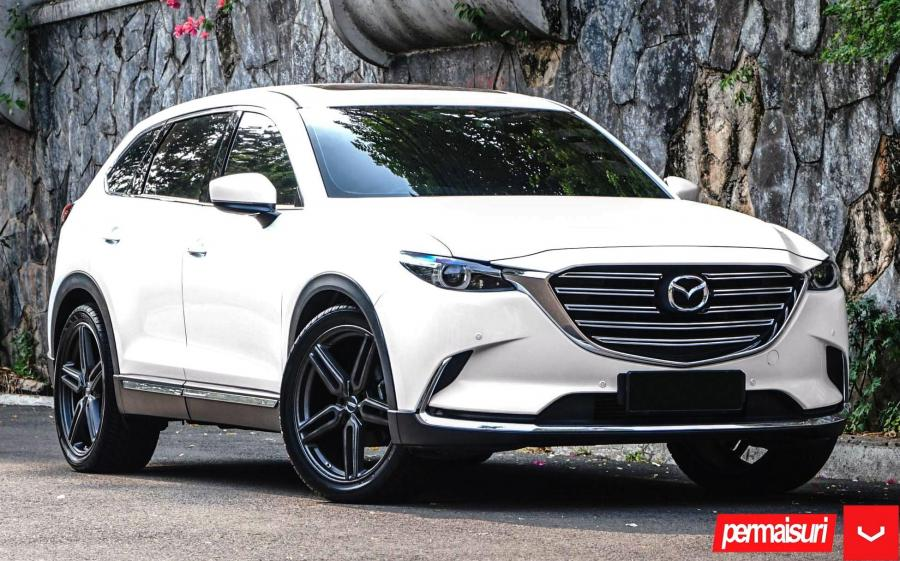 Mazda CX-9 by Permaisuri on Vossen Wheels (HF-1) '2019