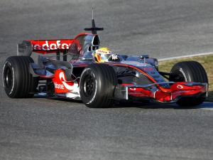 2008 McLaren Mercedes-Benz MP4-23