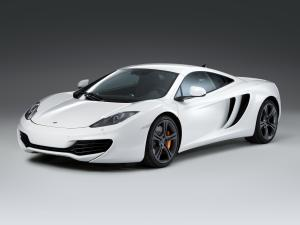 2011 McLaren MP4-12C White Edition