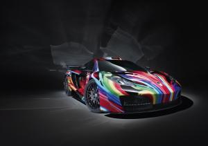 McLaren MP4-12C Art Style by Hamann 2012 года