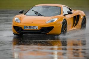 2012 McLaren MP4-12C at the Top Gear Test Track