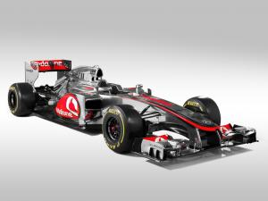 McLaren Mercedes-Benz MP4-27 2012 года