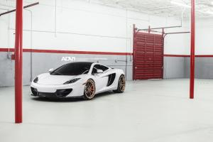 McLaren MP4-12C by Fabspeed on ADV.1 Wheels 2014 года