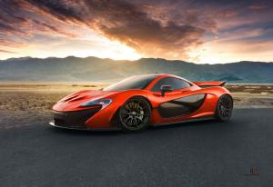 2015 McLaren P1 in Death Valley